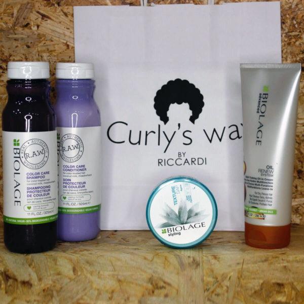 Trattamento capelli ricci Curly Kit by Salvatore Riccardi